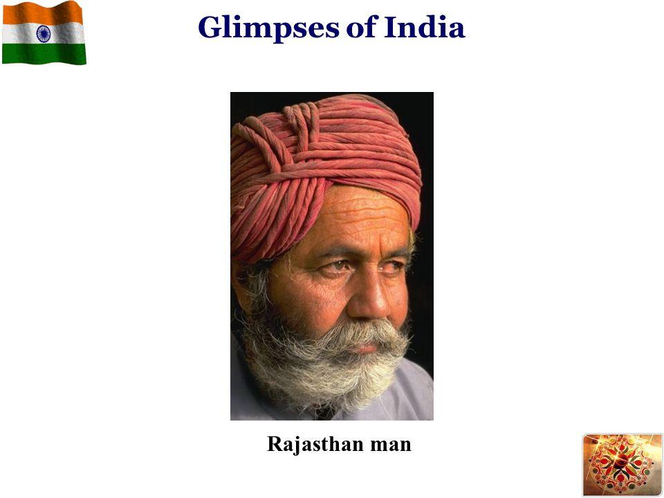 Glimpses of India Rajasthan man