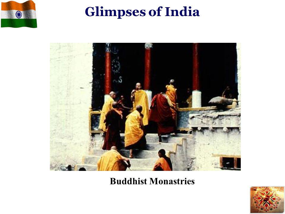 Glimpses of India Buddhist Monastries