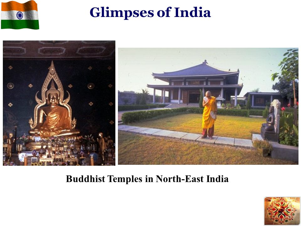 Glimpses of India Buddhist Temples in North-East India