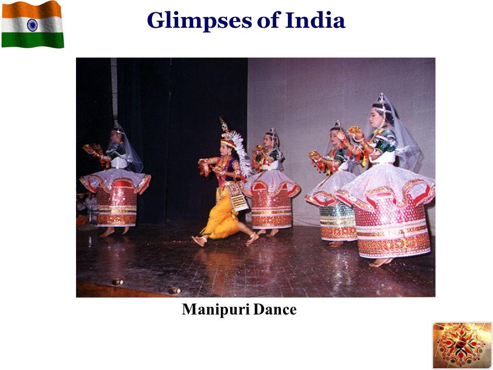 Glimpses of India Manipuri Dance
