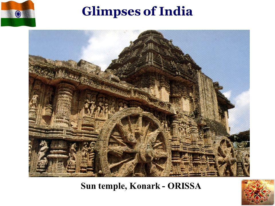 Glimpses of India Sun temple, Konark - ORISSA