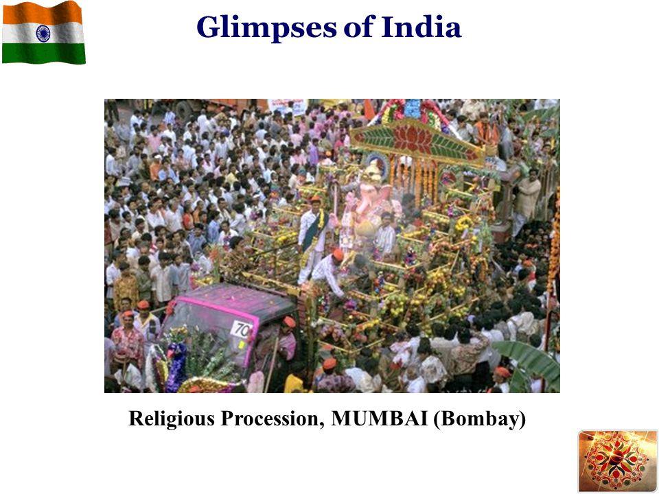 Glimpses of India Religious Procession, MUMBAI (Bombay)