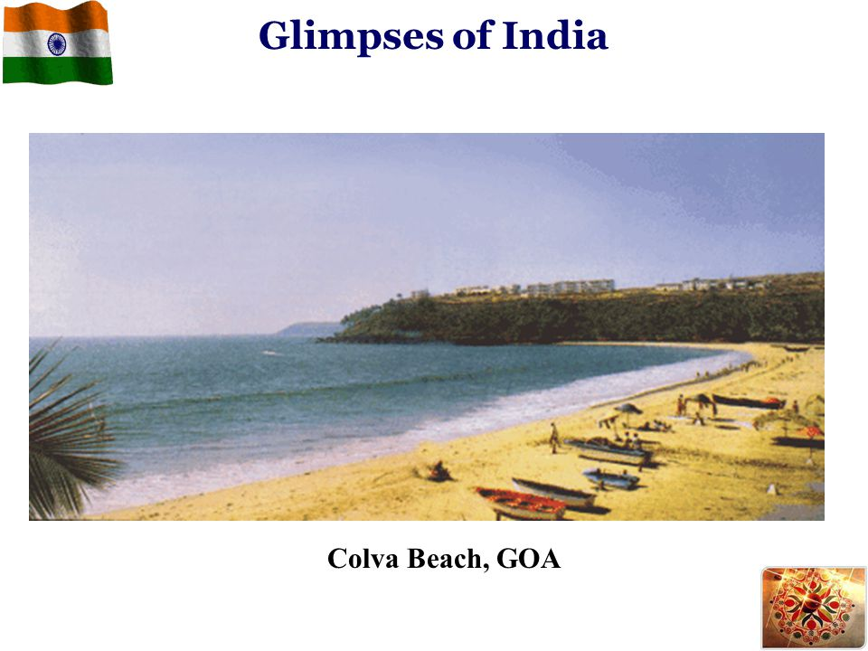 Glimpses of India Colva Beach, GOA
