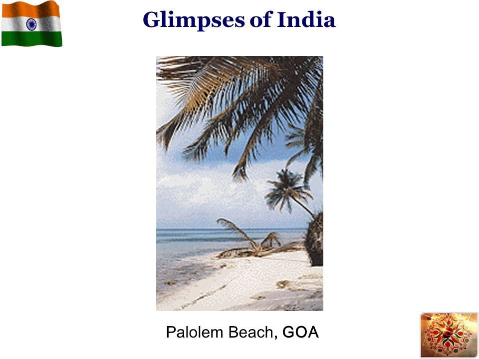 Glimpses of India Palolem Beach, GOA