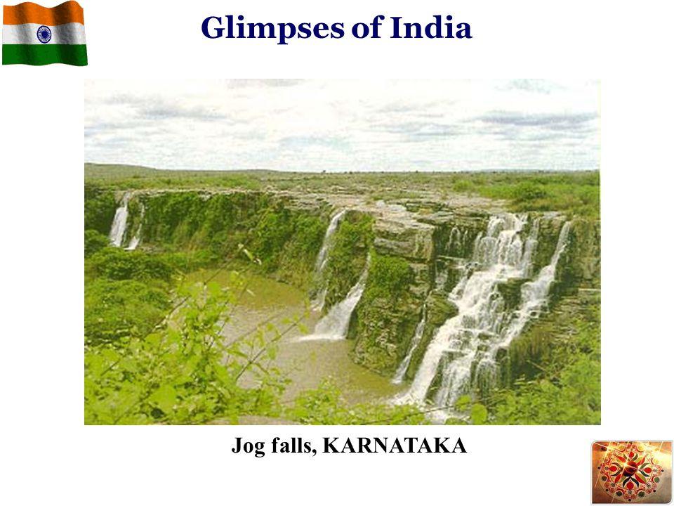 Glimpses of India Jog falls, KARNATAKA