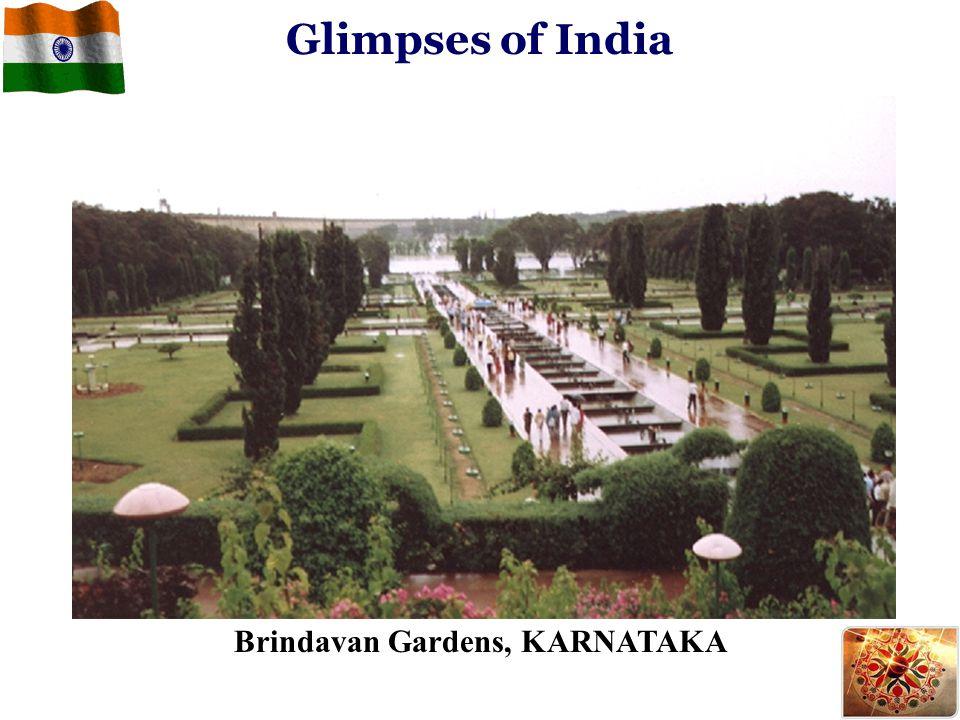 Glimpses of India Brindavan Gardens, KARNATAKA