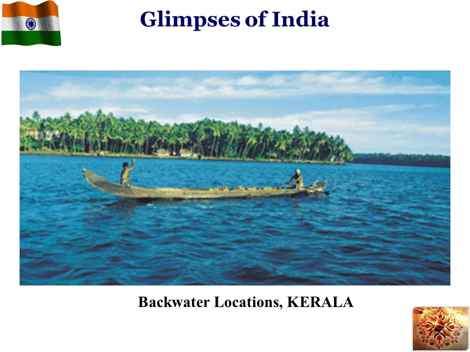 Glimpses of India Backwater Locations, KERALA
