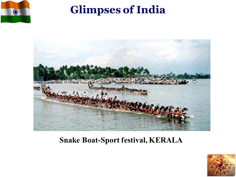Glimpses of India Snake Boat-Sport festival, KERALA