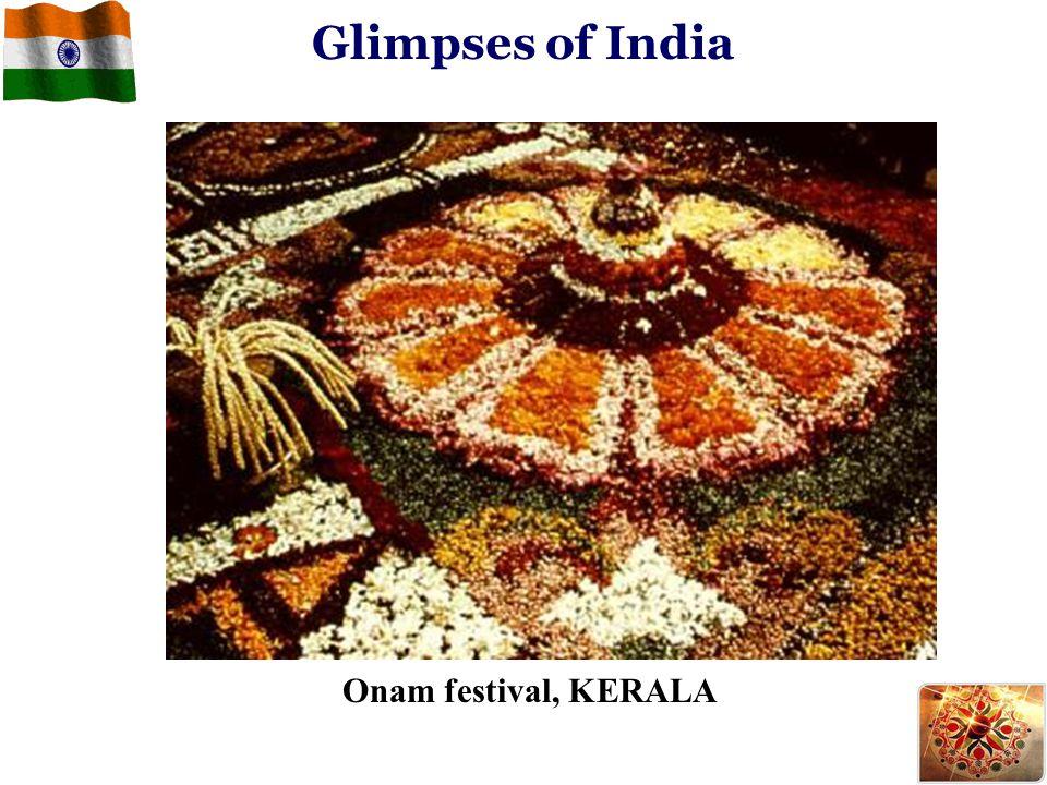 Glimpses of India Onam festival, KERALA