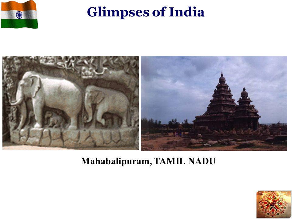 Glimpses of India Mahabalipuram, TAMIL NADU