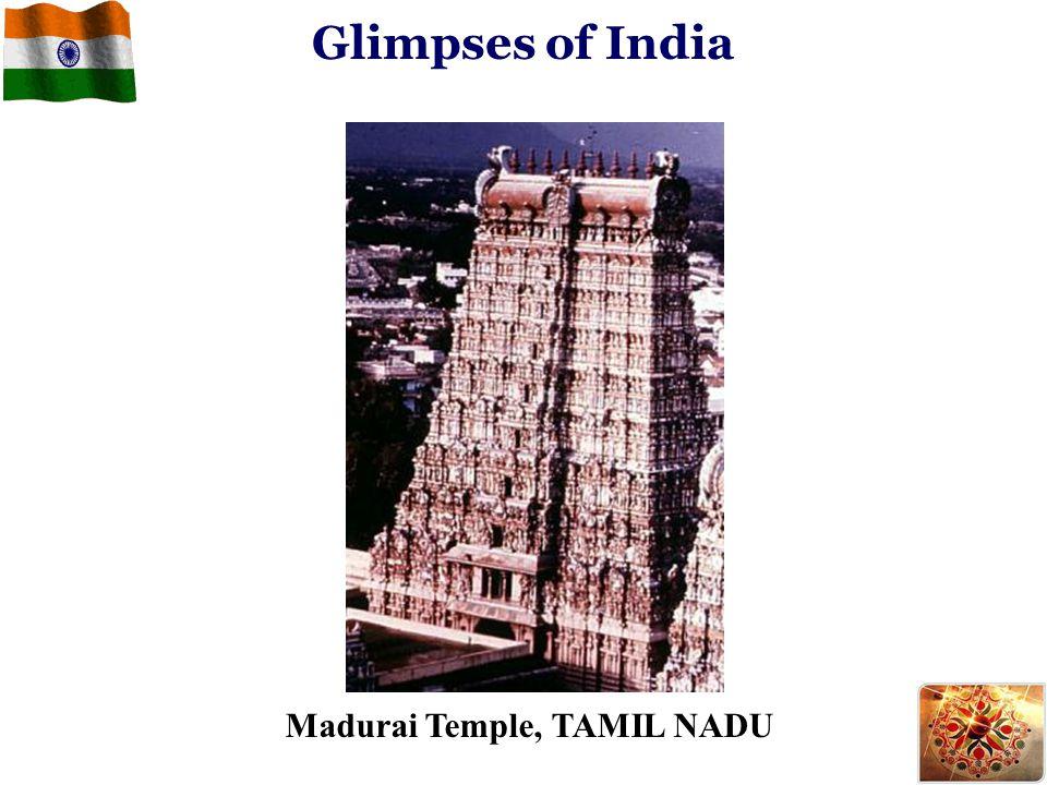 Glimpses of India Madurai Temple, TAMIL NADU