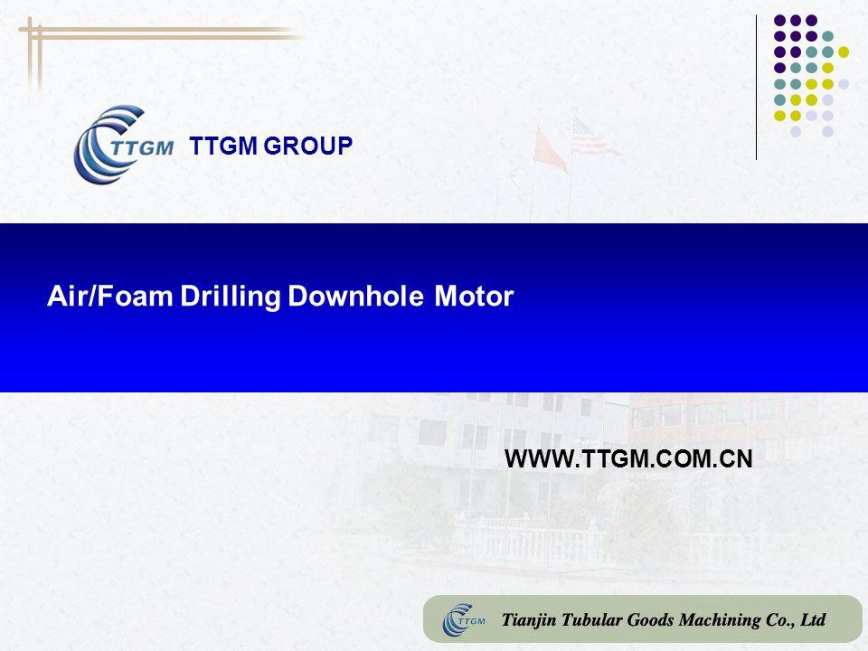 Air/Foam Drilling Downhole Motor