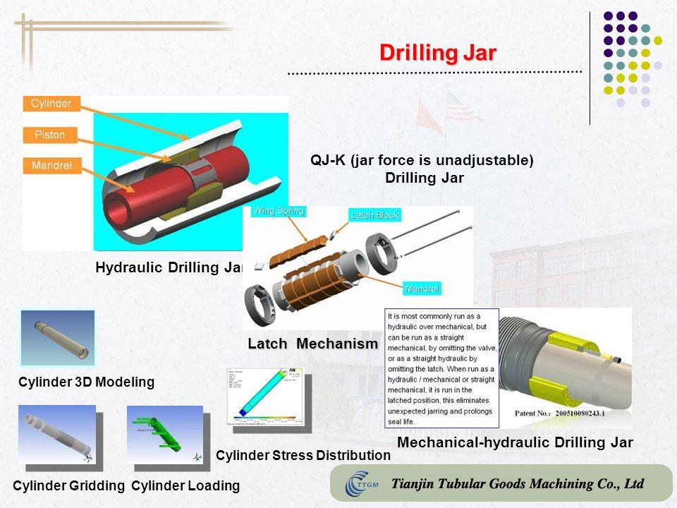 QJ-K (jar force is unadjustable) Drilling Jar