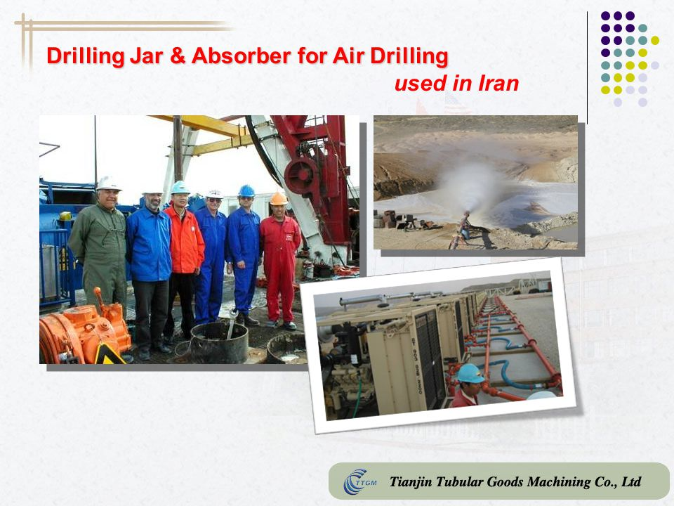 Drilling Jar & Absorber for Air Drilling