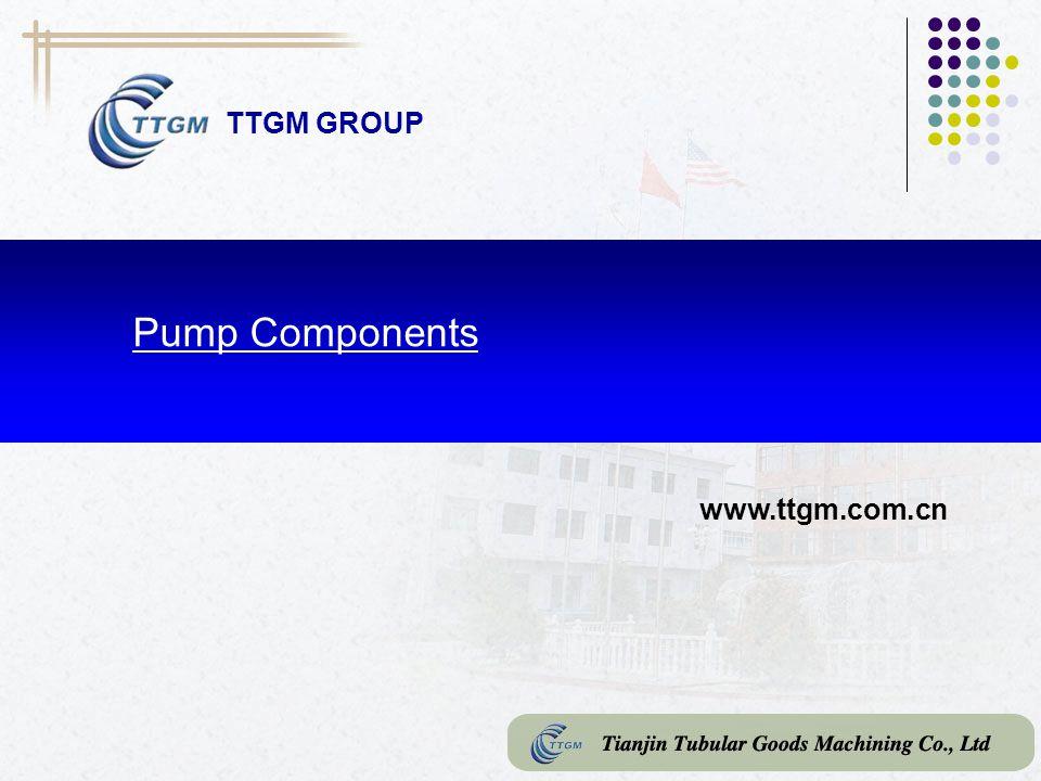 TTGM GROUP Pump Components www.ttgm.com.cn
