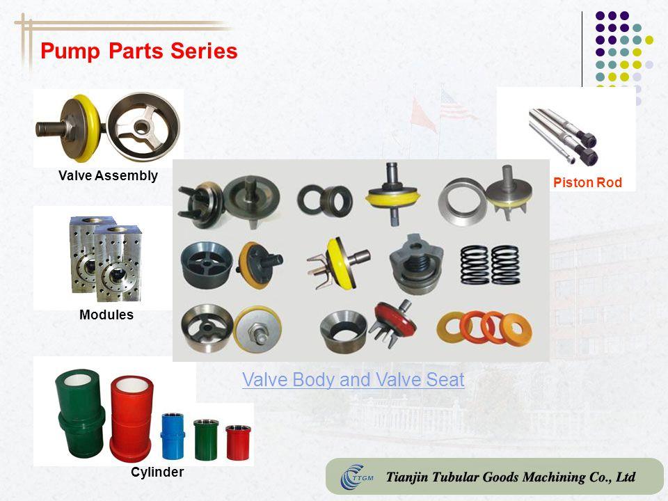 Pump Parts Series Valve Body and Valve Seat Valve Assembly Piston Rod