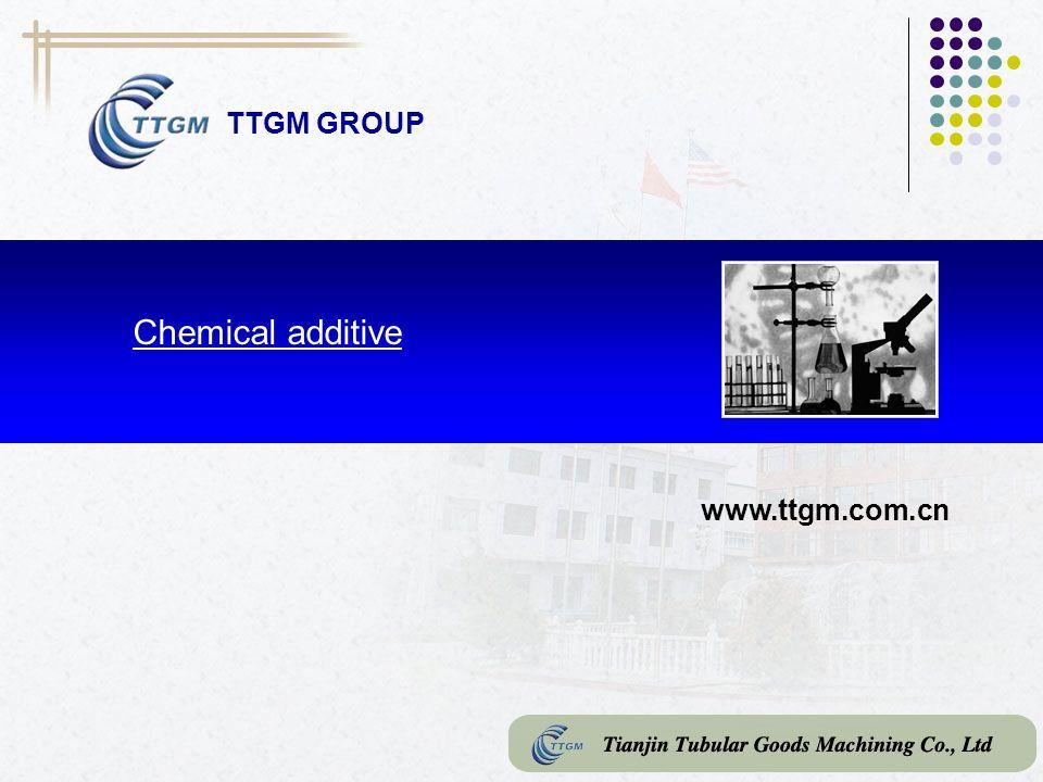 TTGM GROUP Chemical additive www.ttgm.com.cn