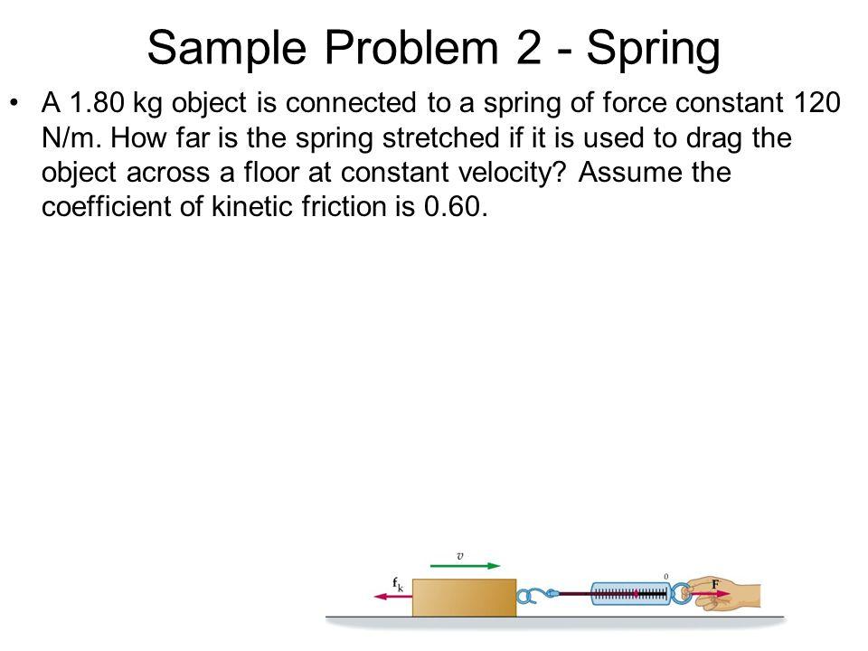 Sample Problem 2 - Spring