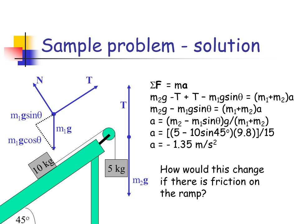 Sample problem - solution