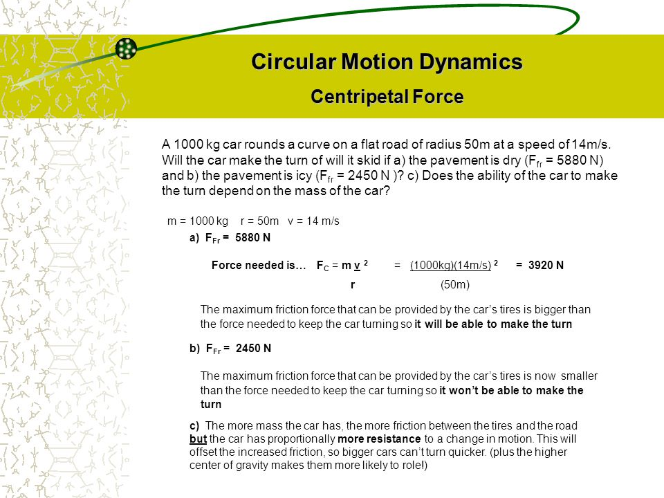 Circular Motion Dynamics