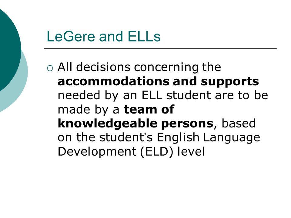 LeGere and ELLs