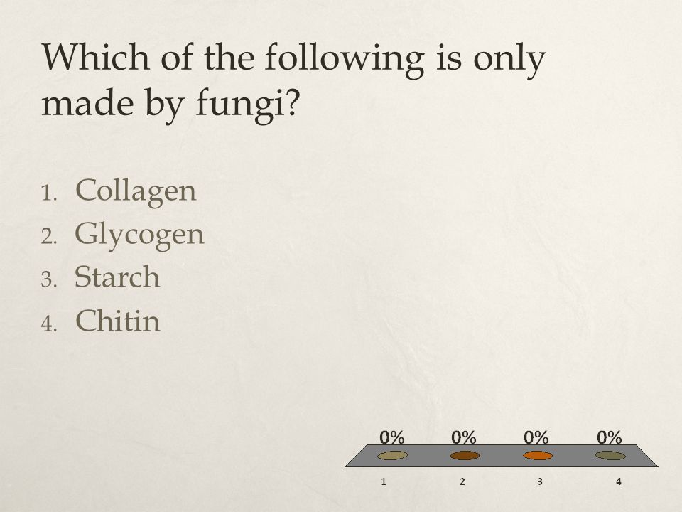 Which of the following is only made by fungi