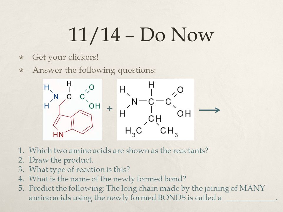 11/14 – Do Now + Get your clickers! Answer the following questions: