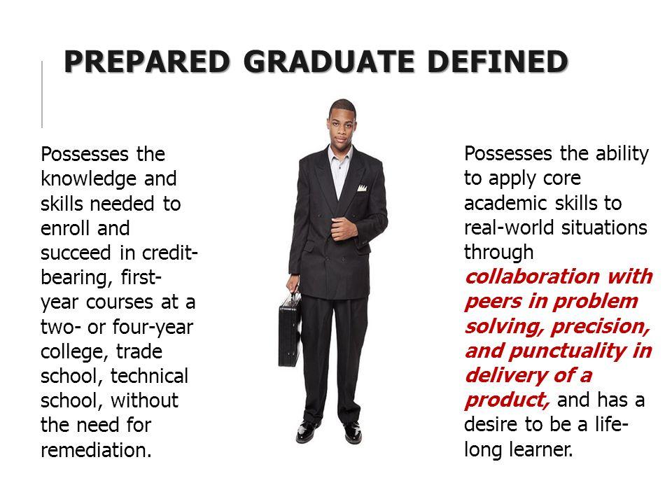 Prepared Graduate Defined