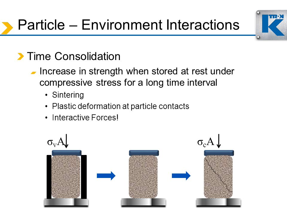 Particle – Environment Interactions