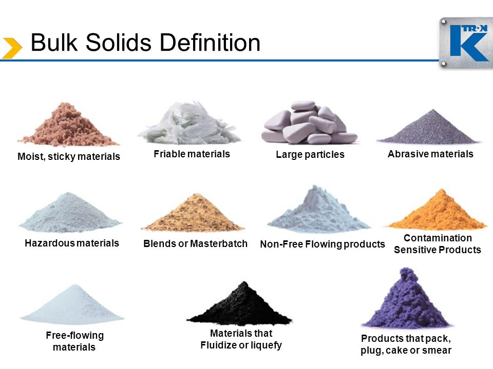 Bulk Solids Definition