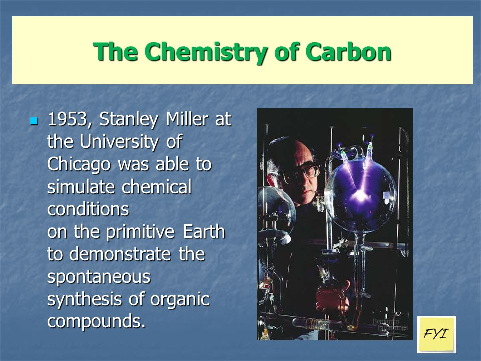 The Chemistry of Carbon