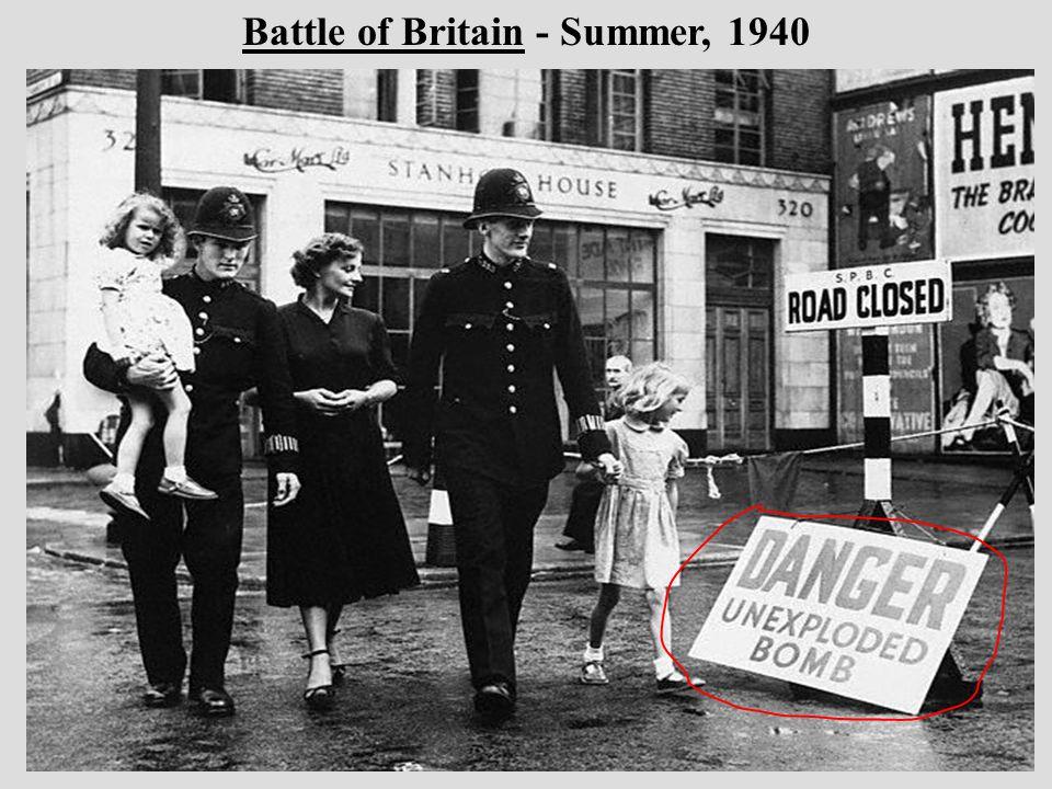 Battle of Britain - Summer, 1940