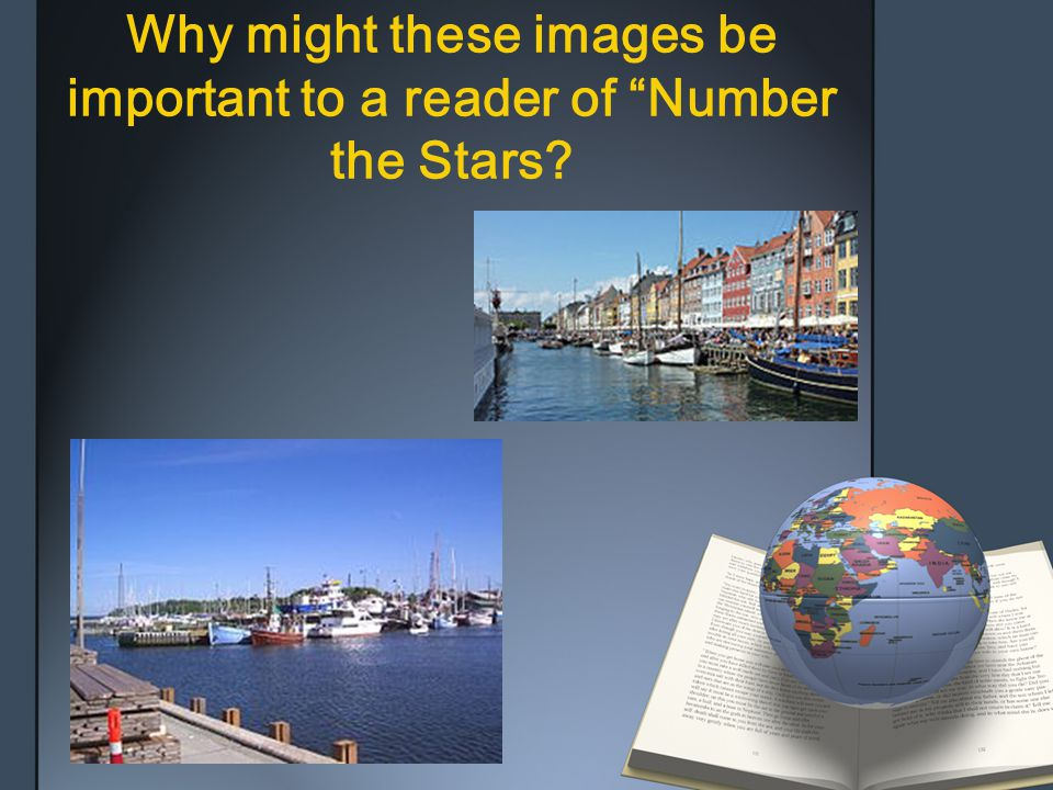 Why might these images be important to a reader of Number the Stars
