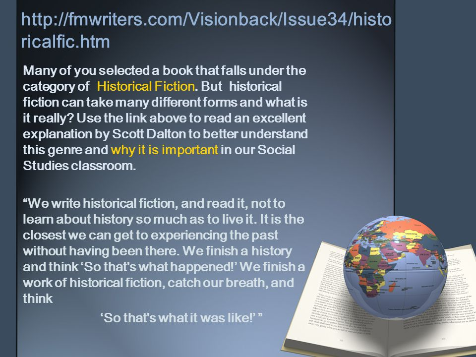 http://fmwriters.com/Visionback/Issue34/historicalfic.htm