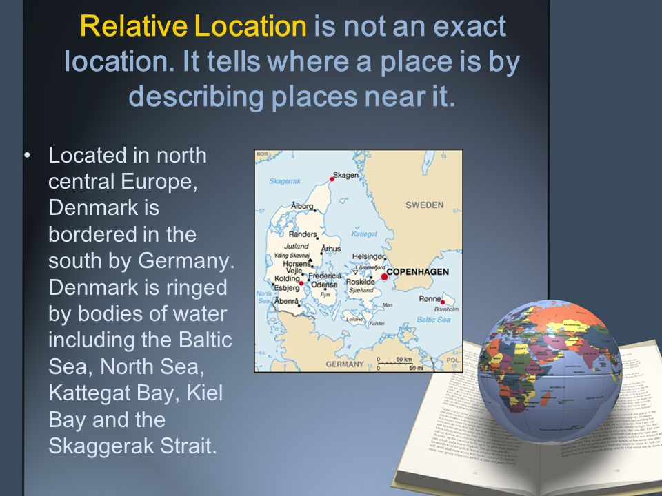 Relative Location is not an exact location