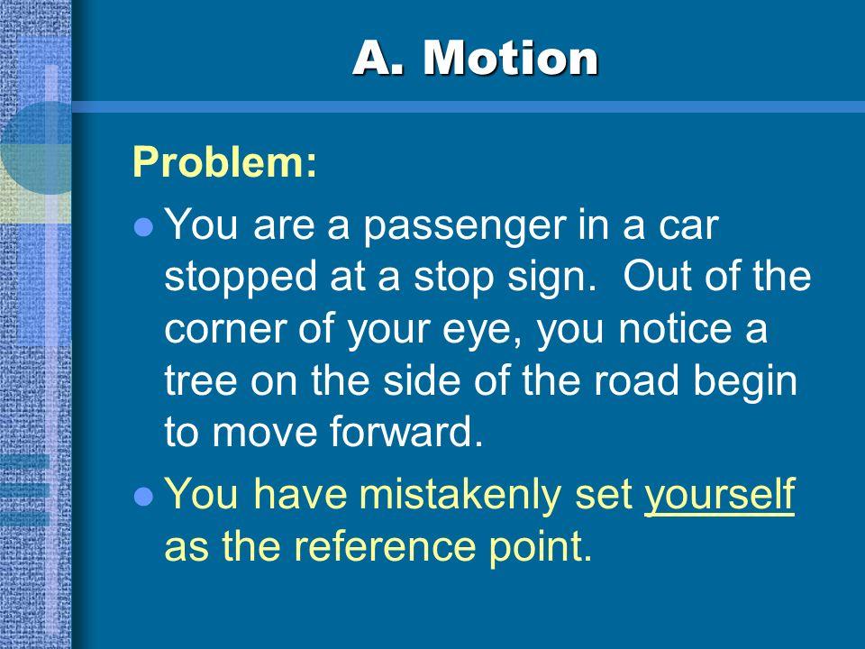 A. Motion Problem: