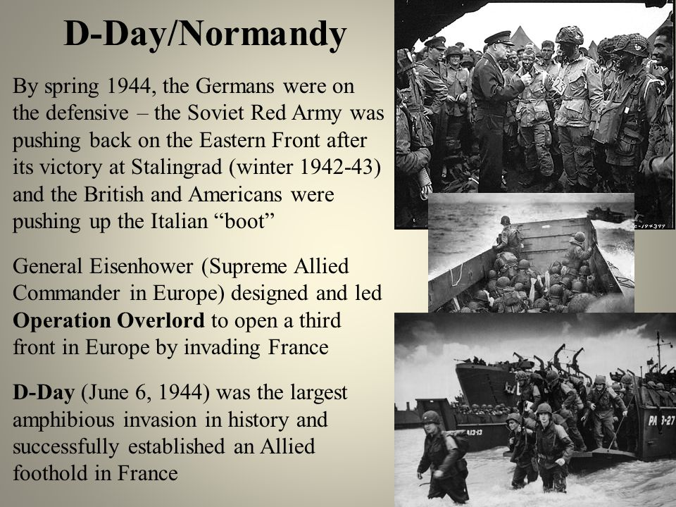 D-Day/Normandy