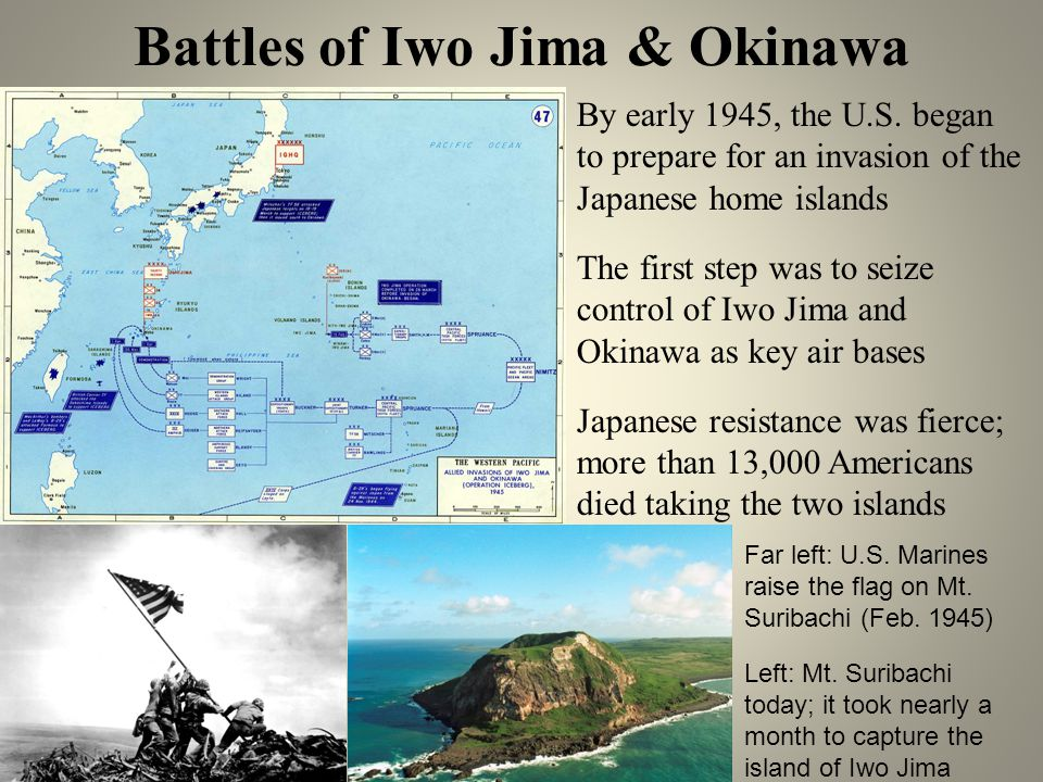 Battles of Iwo Jima & Okinawa