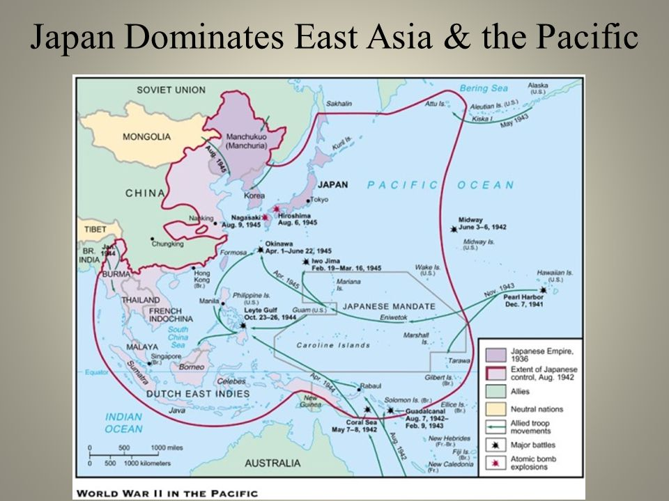 Japan Dominates East Asia & the Pacific