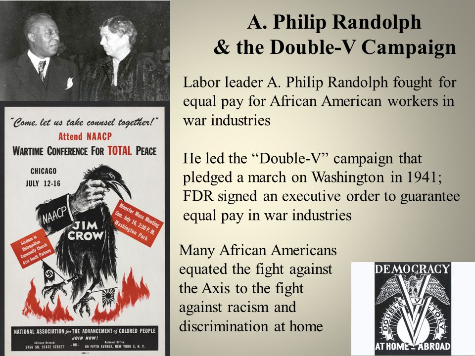 A. Philip Randolph & the Double-V Campaign