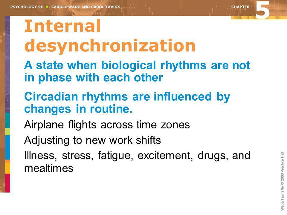 Internal desynchronization