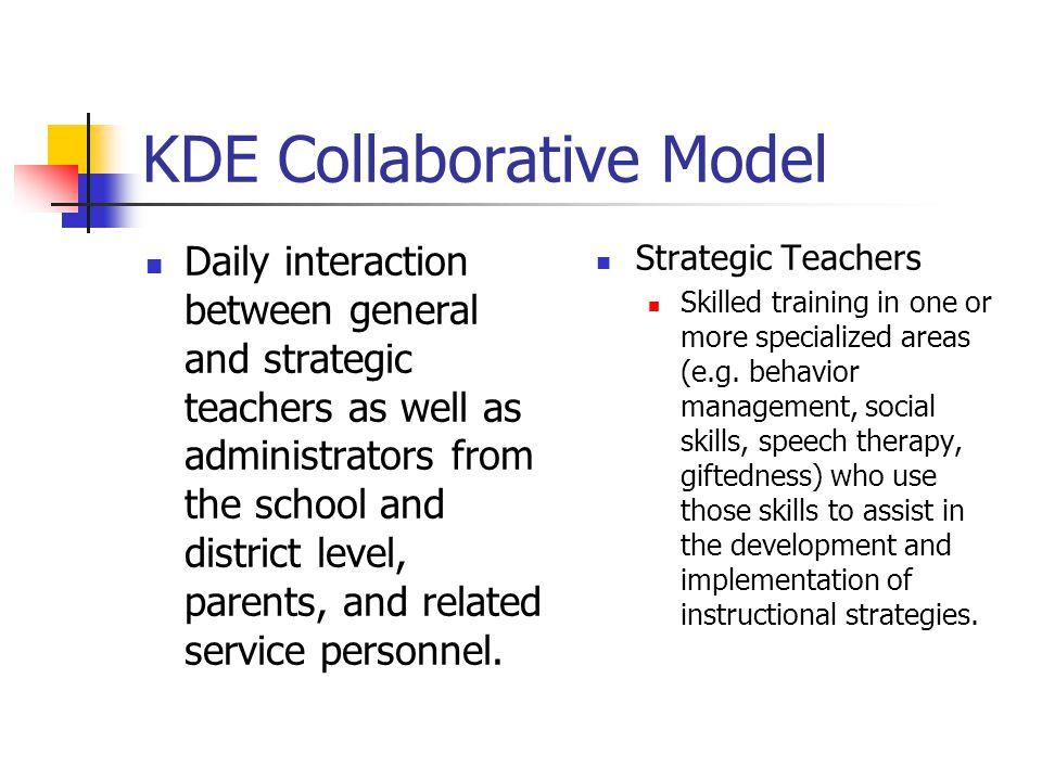 KDE Collaborative Model