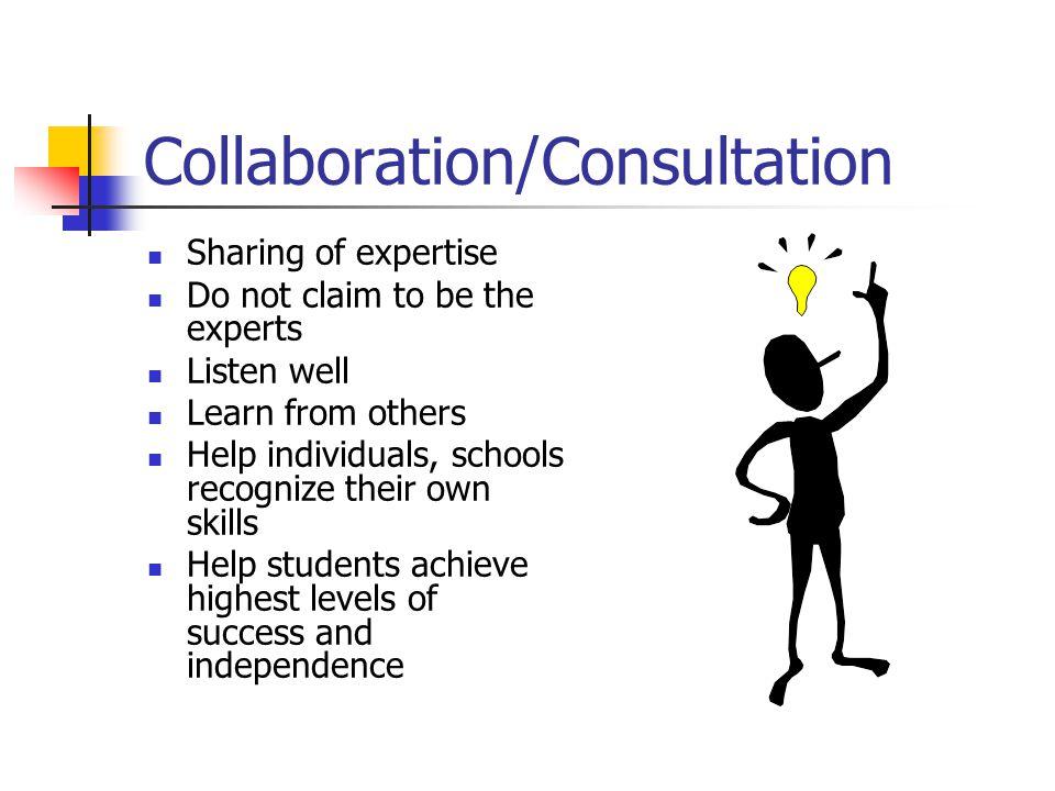 Collaboration/Consultation