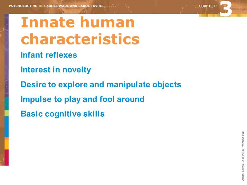 Innate human characteristics