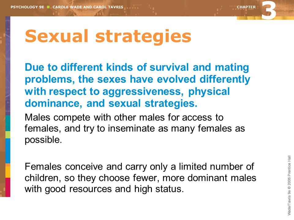 3 Sexual strategies.