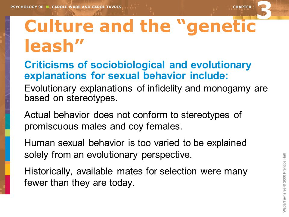 Culture and the genetic leash
