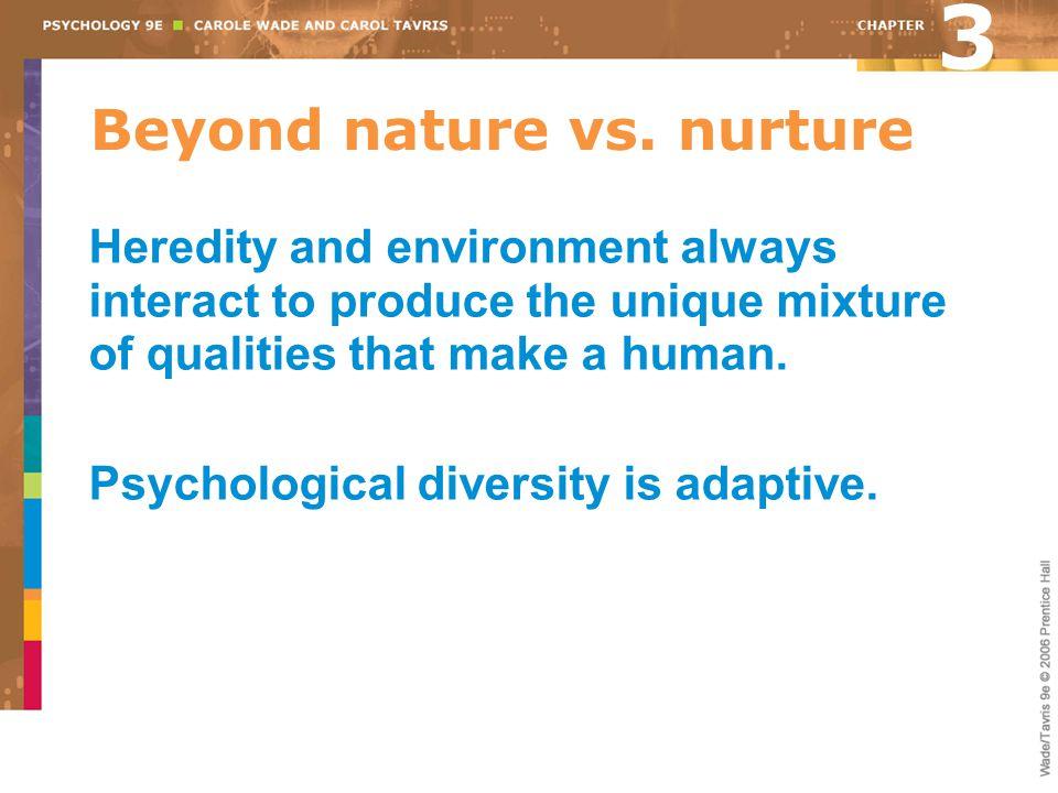 Beyond nature vs. nurture