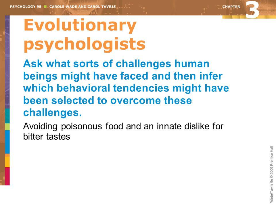 Evolutionary psychologists