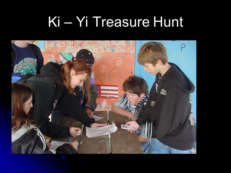 Ki – Yi Treasure Hunt