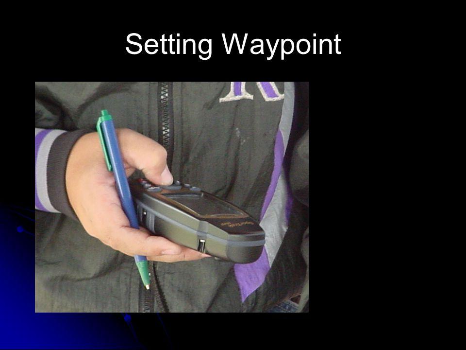 Setting Waypoint